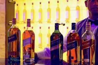 ジョニーウォーカー飲み比べの画像