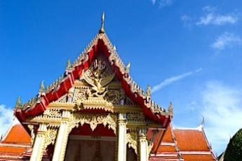 プーケットのお寺の画像