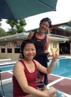CIPは学校敷地内にプールのある学校なのでした!