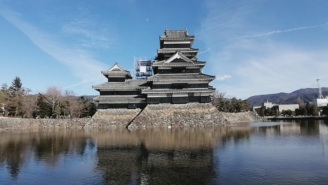 長野観光スポット 松本城