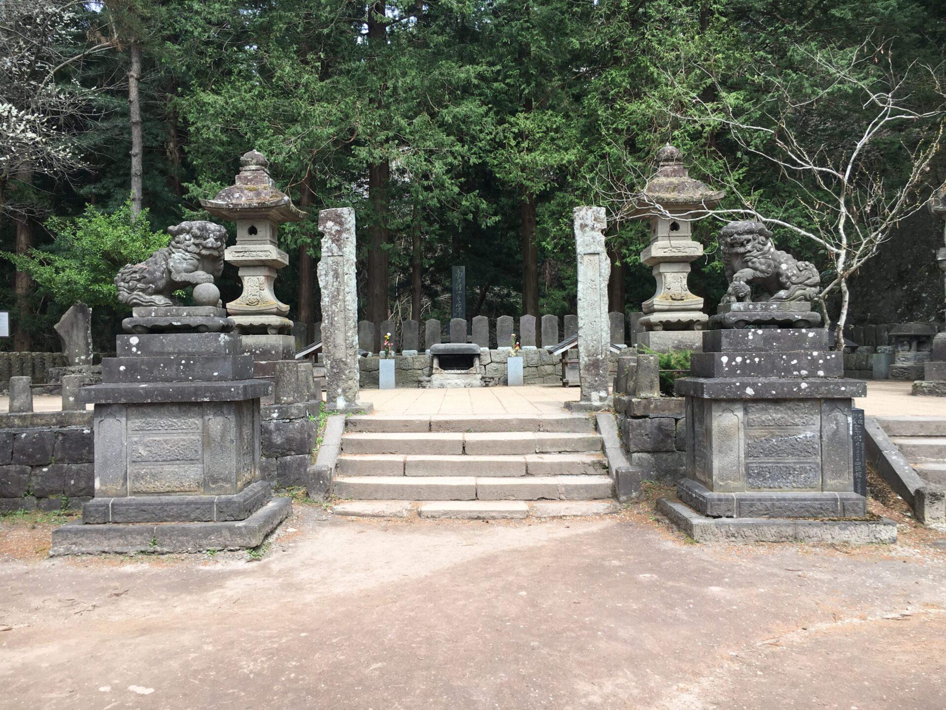 飯盛山 白虎隊のお墓
