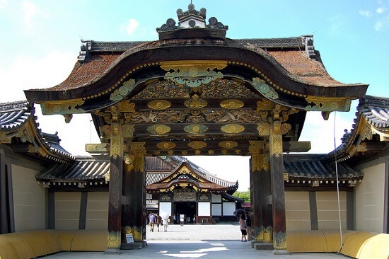 Le château de Kyoto (Nijo-jo).
