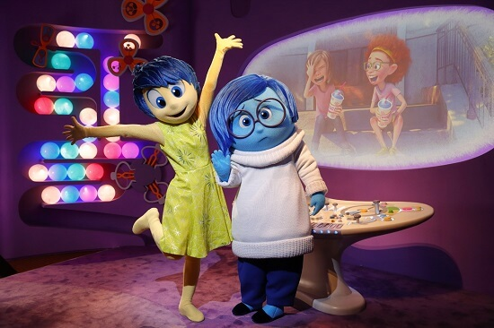 "Joy and Sadness from ""Inside Out"" Coming to Epcot"
