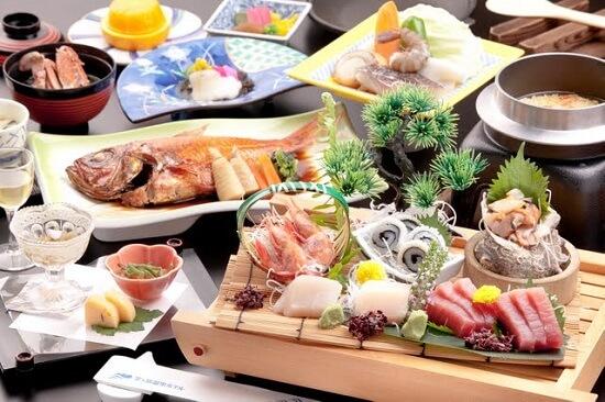 金目鯛と地魚お造り会席料理(イメージ)