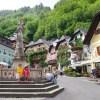 湖畔の可愛い建物  オーストリア・ハルシュタット2
