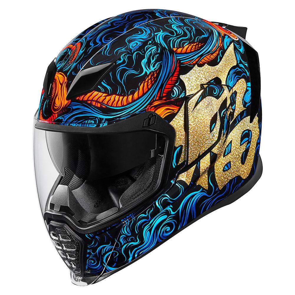 ICONヘルメットのサイズ感とシールド交換