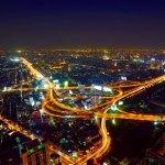 夜景 都会 風景 街並み