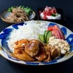 鶏肉 定食 食事 和食
