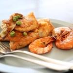 シュリンプ えび 海鮮 食事 洋食 カフェ