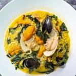 うに 海鮮 洋食 イタリアン 食事