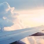 飛行機 風景 旅行