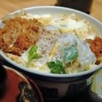カツ丼 丼もの お米 食事 和食