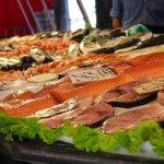 サーモン 海鮮 食事