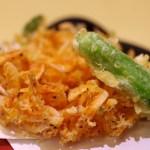 天ぷら 食事 揚げ物 和食