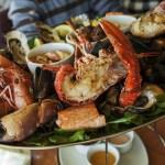 海鮮 グリル 食事 洋食