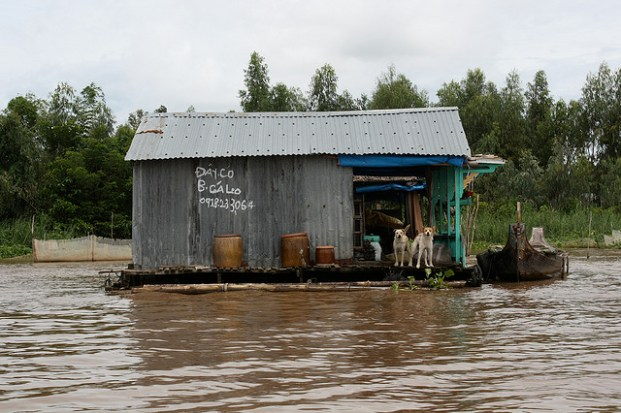 Chau Doc (près de la frontière Cambodgienne)