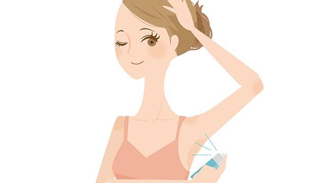 背中ニキビがあるけど制汗剤や汗拭きシートは使える?汗をかいた後のケアは?