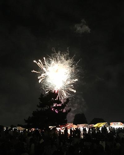 下志津駐屯地盆踊り屋台や花火の混雑はどれくらい?何時までに行く?