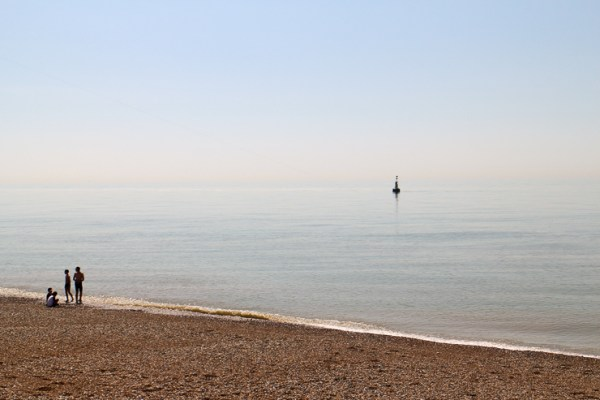 ダンジェネスのビーチ