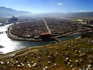 中国 東チベット 亜青寺 China Eastern Tibet Yaqing temple