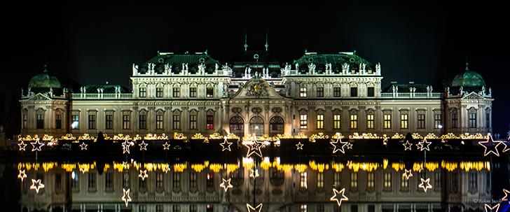 ベルヴェデーレ宮殿 クリスマス