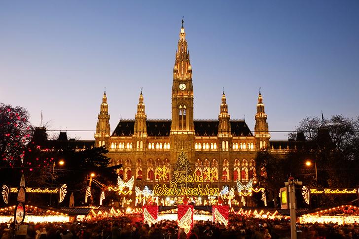ウィーン市庁舎 クリスマスマーケット