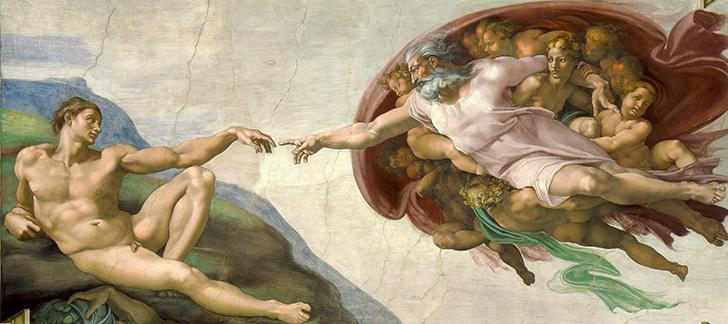 アダム創造
