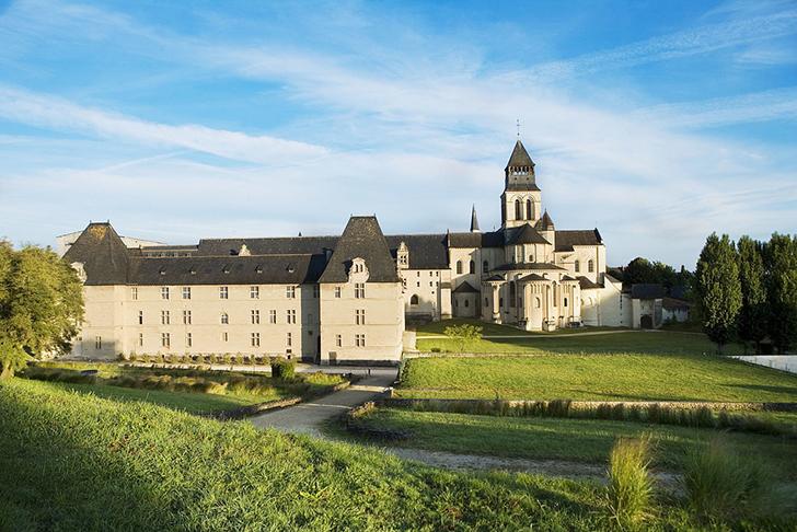 フランス フォントヴロー修道院