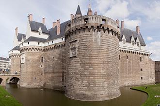 ナントのブルターニュ大公城