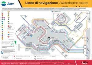 ヴァポレット路線図
