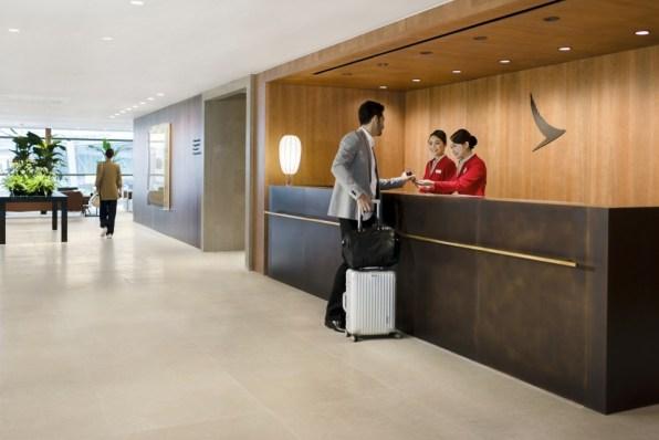 キャセイ航空,香港空港,ラウンジ,the pier business -2