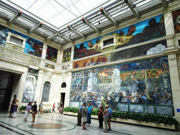 museum-inside-kabe1ディエゴ・リベラ巨大壁画1
