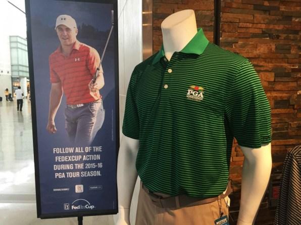 PGAツアーショップの公式ポロシャツ