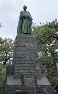 桂浜公園 坂本龍馬像