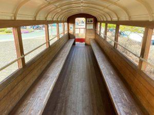 音戯の郷 展示車両の内部
