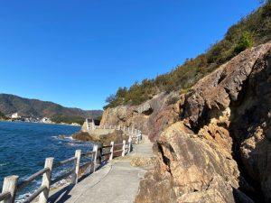仙酔島 遊歩道