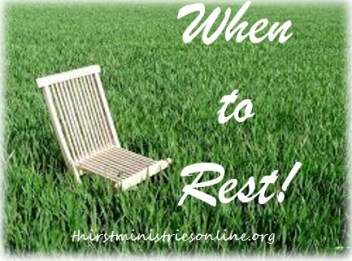 Blog - When to Rest