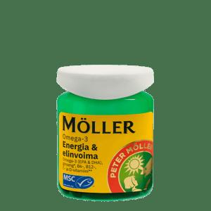 Moller Omega-3 Energia & elinvoima