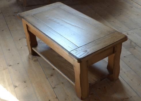 nos tables basses en bois massif table margot rectangulaire basse chene massif