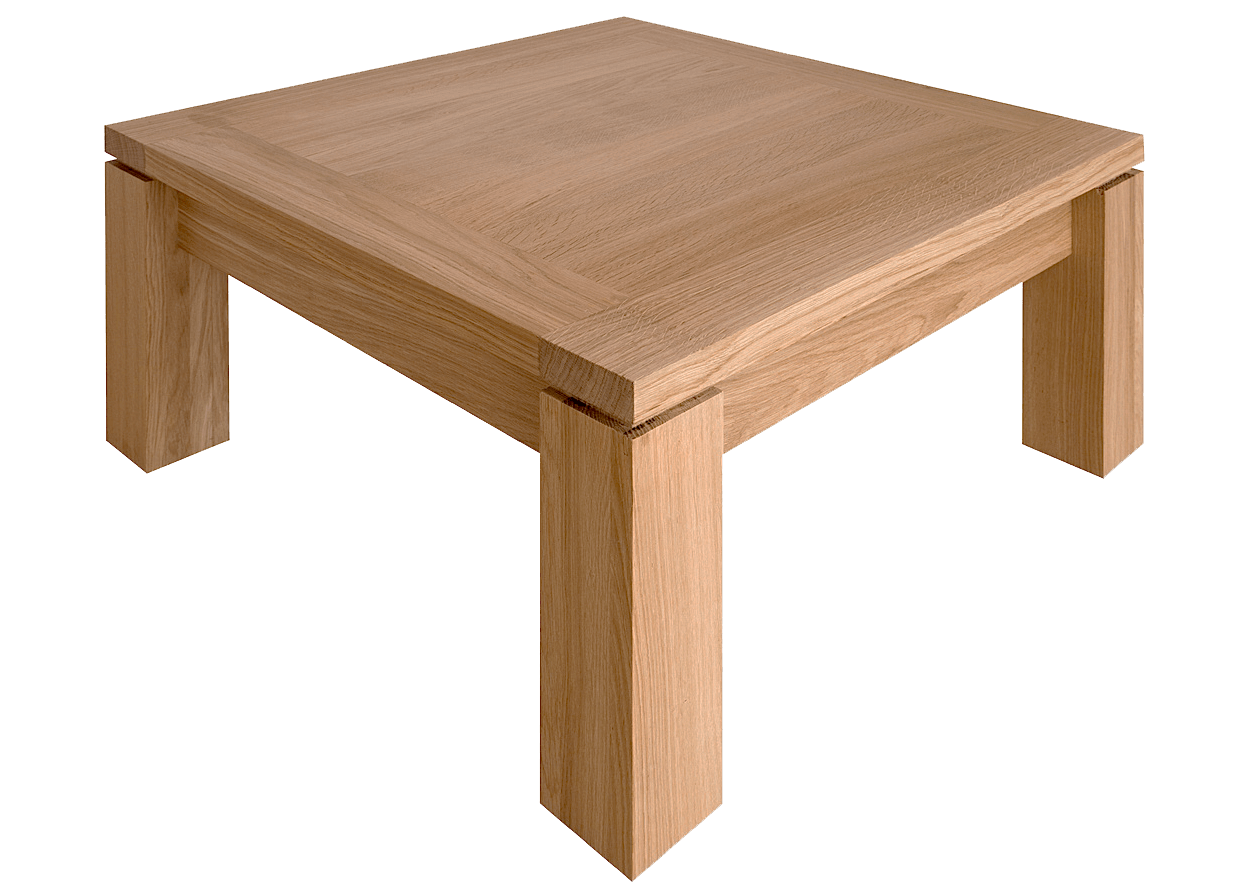 nos tables basses en bois massif table cali carree basse chene massif