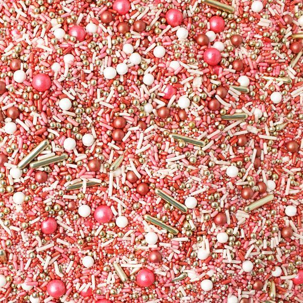 Vintage Rose Gold Sprinkle Mix