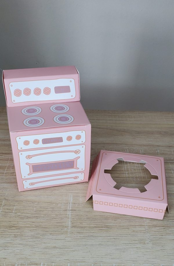 pink stove box