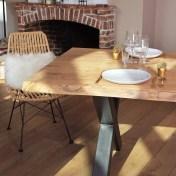 Table Guislain Excellence avec 2 rallonges 3m60x1m10 avec rallonges