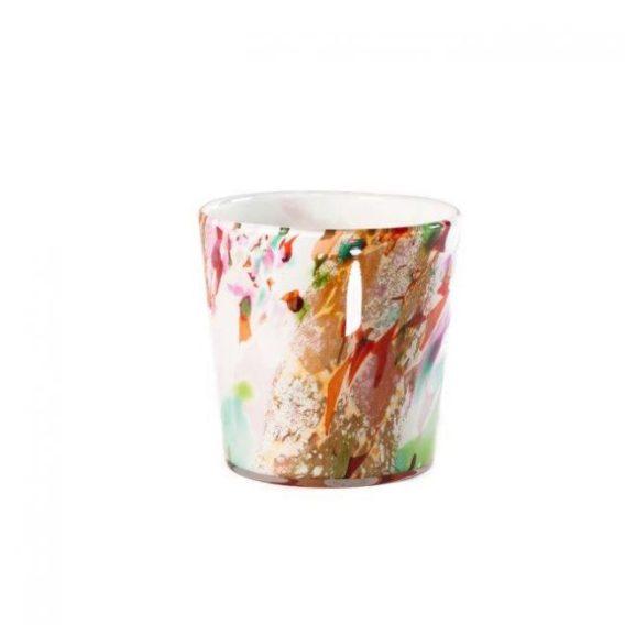 vase en verre soufflé coloré