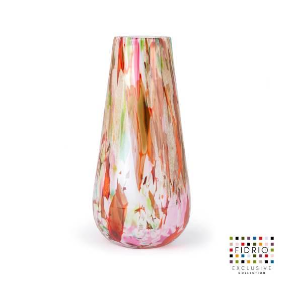 Vase Mixed Colours Gloriosa H40