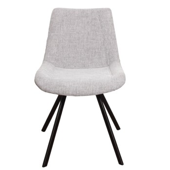 chaise ray grey