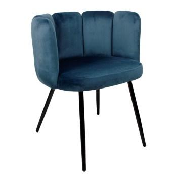 chaise high five ocean blue