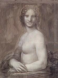 Attribué à Salai, vers 1515, carton, 72,4 x 54 cm, Chantilly, musée Condé