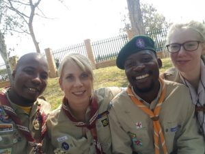 People always meet twice in life and Scouts many times more!
