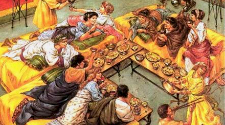 Dining in Ancient Rome